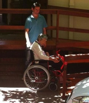 Wheelchair Alida saved